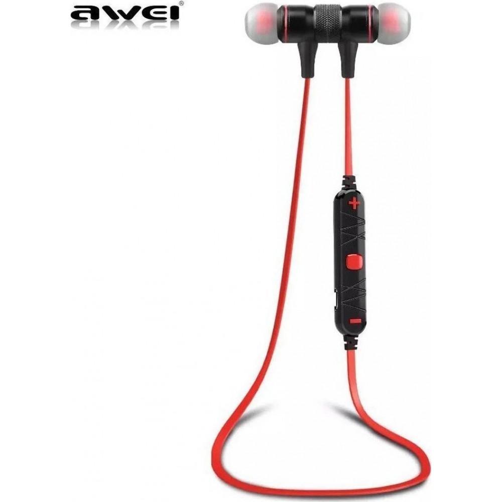 Awei A920BL Bluetooth Ακουστικά (RED)