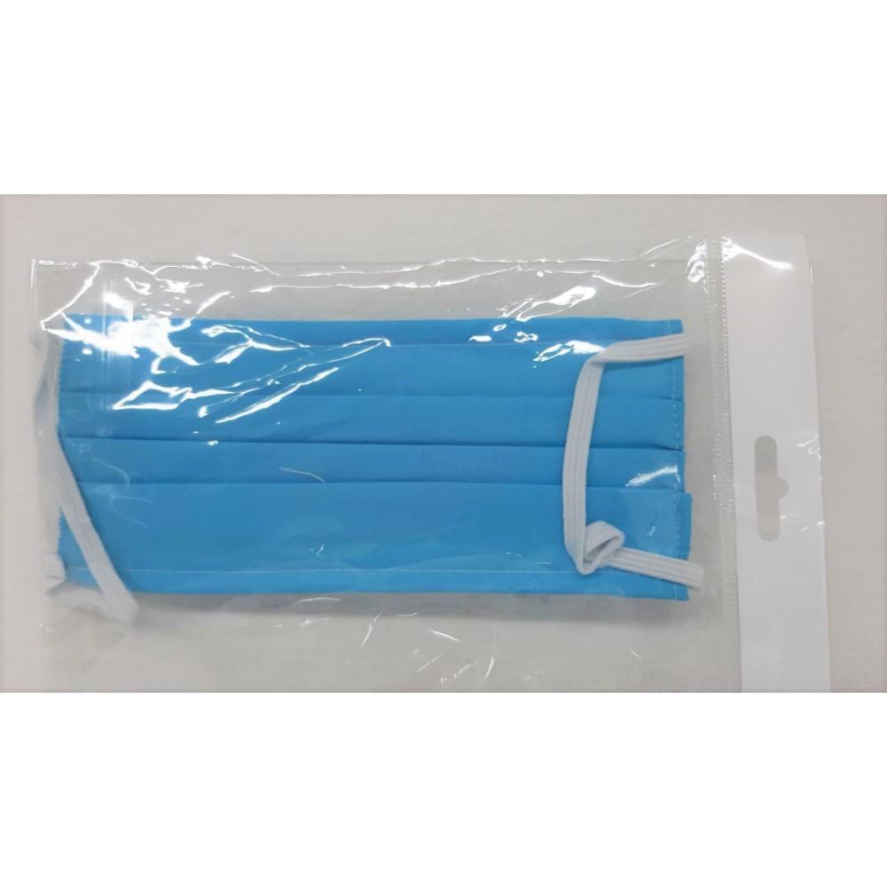 Face Mask Cotton (5003) Reusable Fabric Face Mask Blue