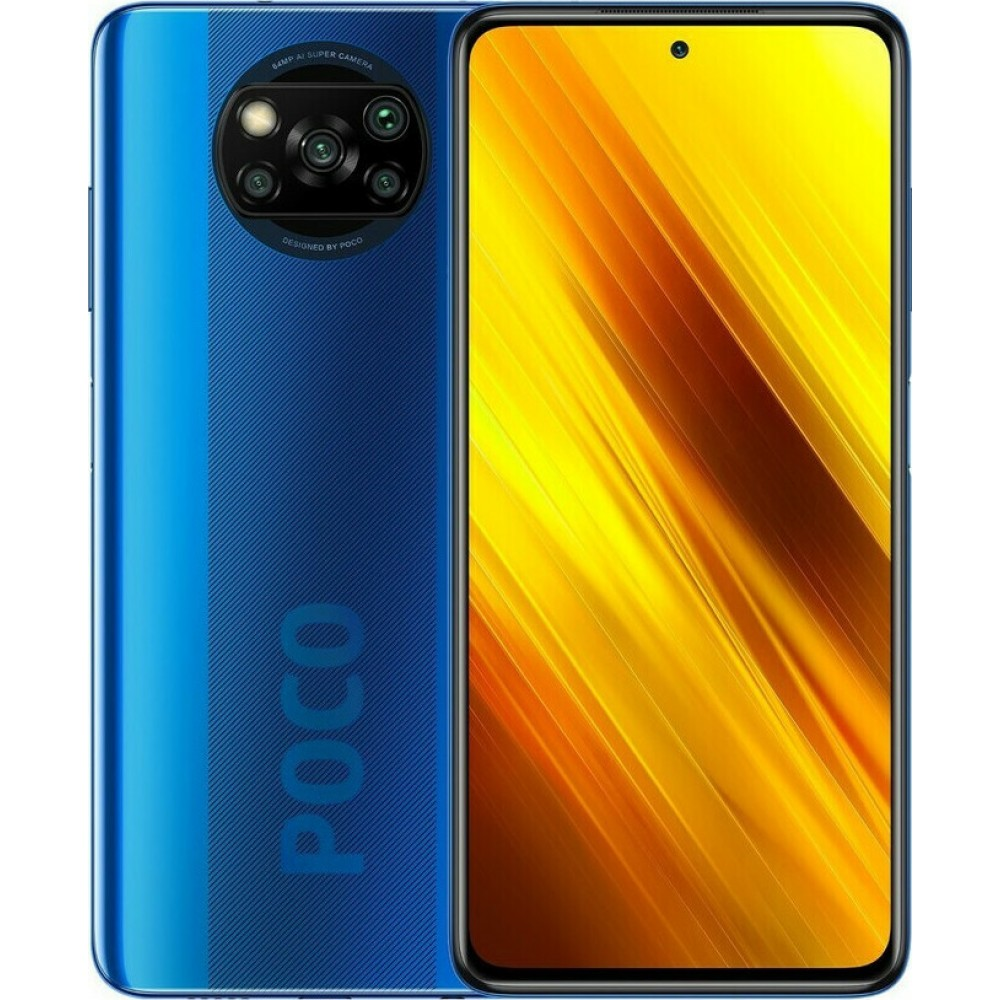 Xiaomi Poco X3 NFC 6GB/64GB Cobalt Blue (Global Version) EU