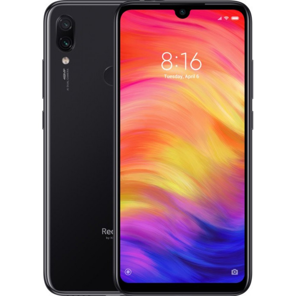 Xiaomi Redmi Note 7 4GB/64GB (Ελληνικό Μενού - Global Version) – Black