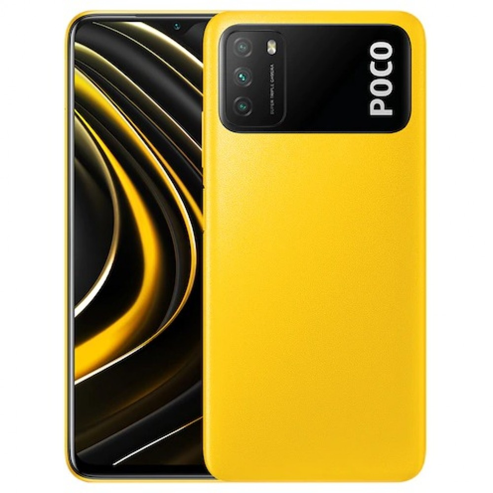 Xiaomi Poco M3 4GB RAM 64GB 6000mAh Battery - Yellow