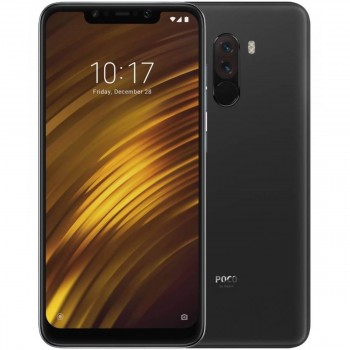 Xiaomi Pocophone F1 6GB/64GB (Global Version) – BLACK + Θήκη Δώρο
