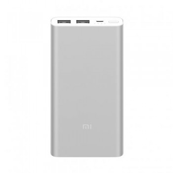 Xiaomi Mi Power Bank 10,000mAh 2S - Ασήμι