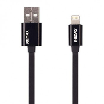 DATA CABLE REMAX FOR iPHONE 7G RC-044i Μαύρος