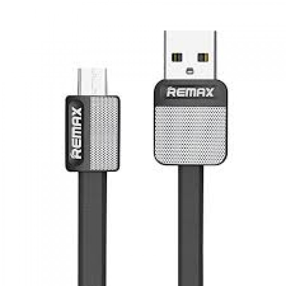 DATA CABLE REMAX ANDROID MICRO USB RC-044m Μαύρος