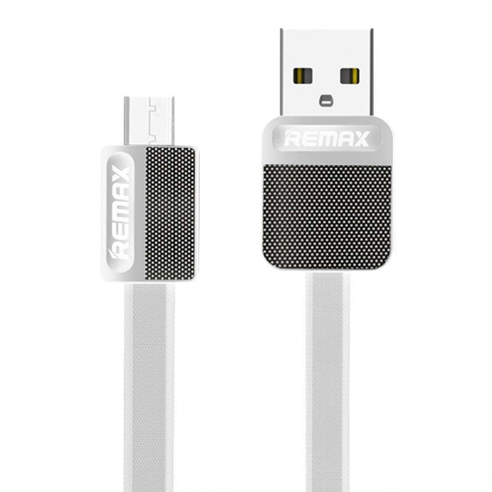 DATA CABLE REMAX ANDROID MICRO USB RC-044m λευκό