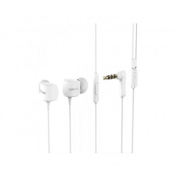 Remax RM-502 In-ear Stereo Wired Music Headset Earphone 3.5mm Jack - λευκό