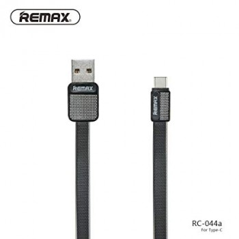 DATA CABLE REMAX TYPE C RC-044a Μαύρος