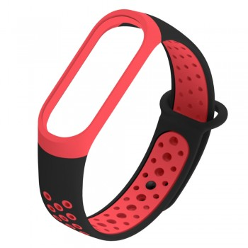 XIAOMI MI BAND 3 STRAP BLACK RED