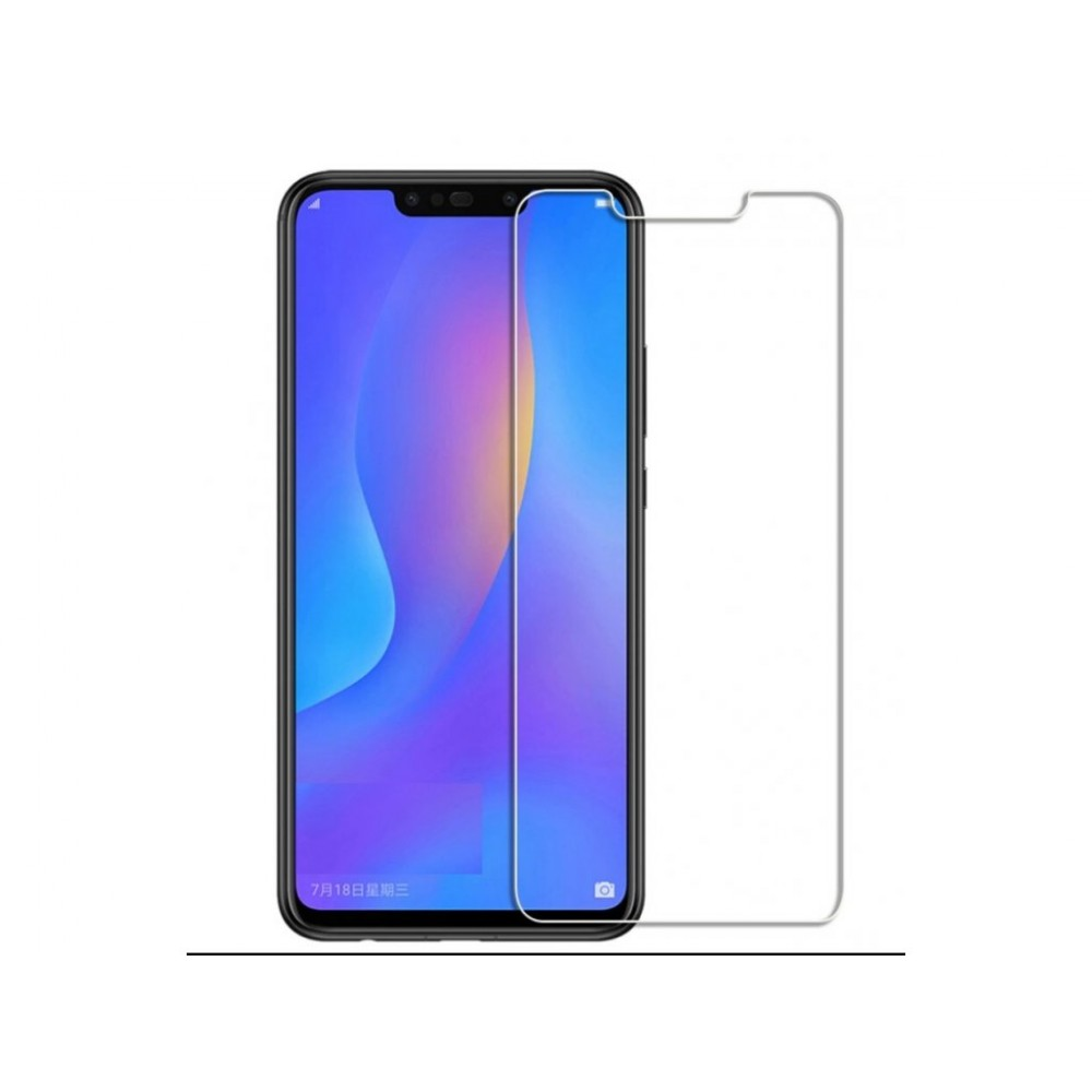 Tempered Glass 9H Normal For Huawei Y7 Prime 2018 _ Transparent