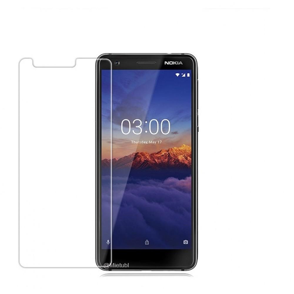 Tempered Glass 9H Normal For Nokia 3.1 _ Transparent