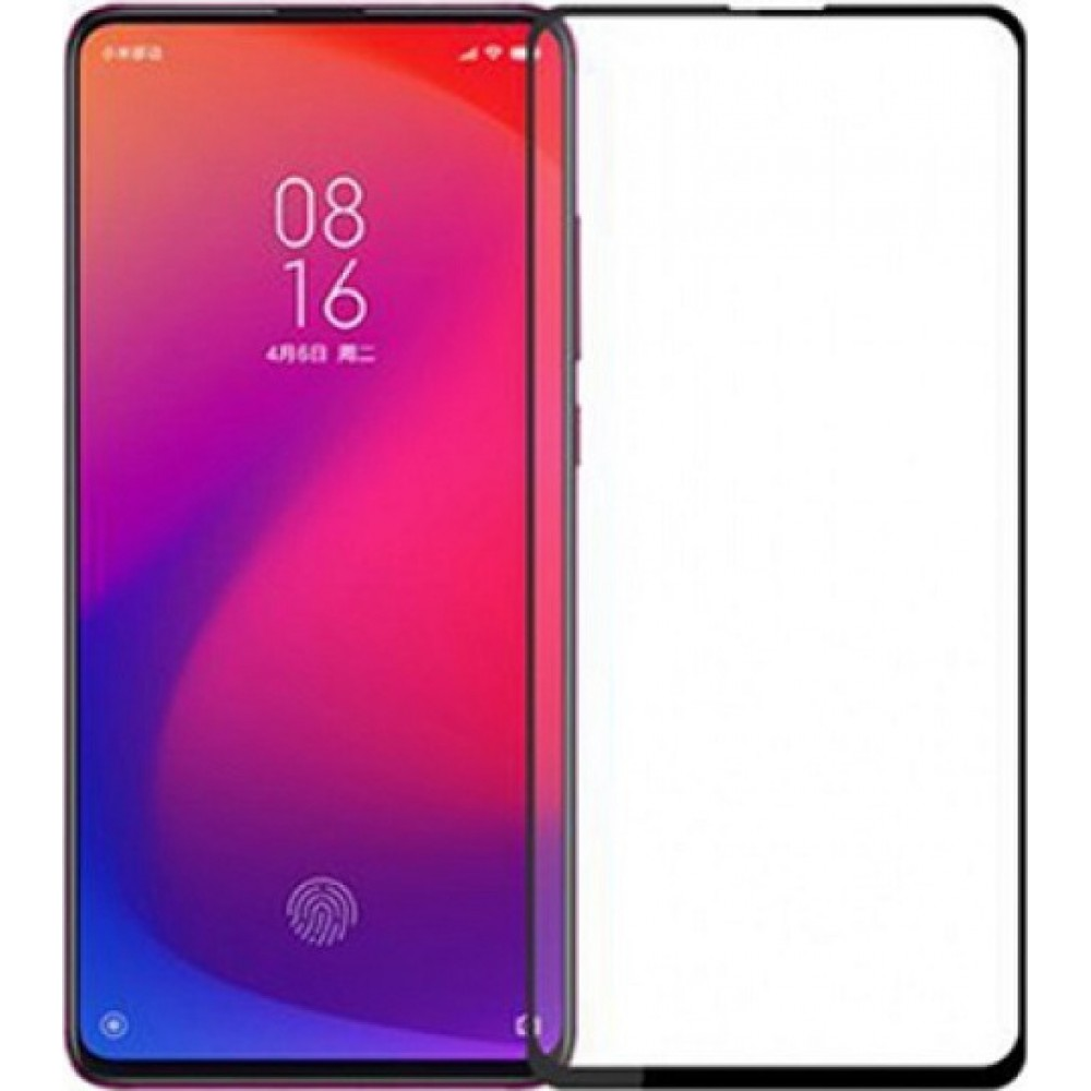 Xiaomi Mi 9T / K20 Pro Full Cover 9H Tempered Glass Screen Protector with Full Glue Black