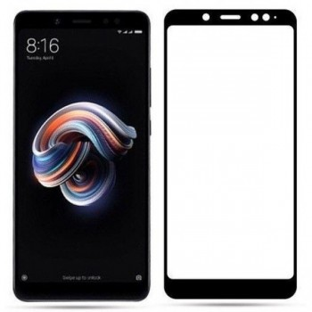 Xiaomi Redmi S2 Full Cover 9H Tempered Glass Full Glue Οθόνης Προστασίας Μαύρος
