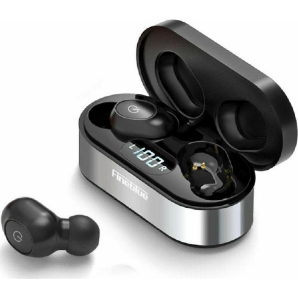 Fineblue Air 55 Pro Ασύρματα ακουστικά με βάση φόρτισης - Μαύρο