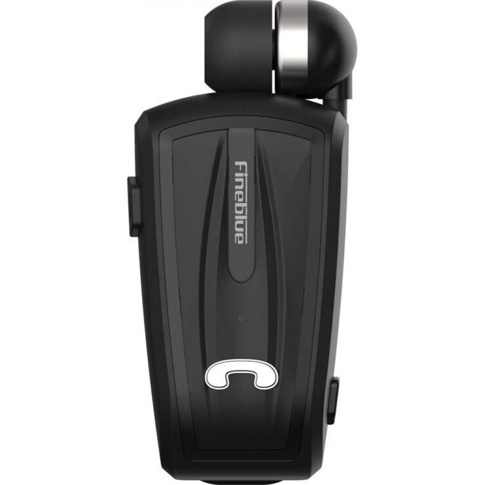 Ακουστικό Fineblue F-V6 2in1 Multipoint Connecting Wireless Bluetooth Handsfree Μαύρο