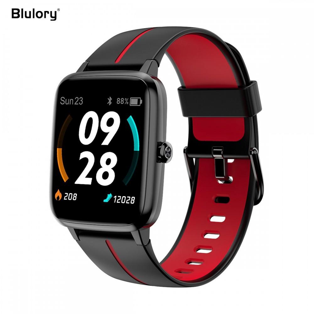 SMART WATCH BLULORY GLIFO 5 PRO WITH GPS - CLASSIC RED