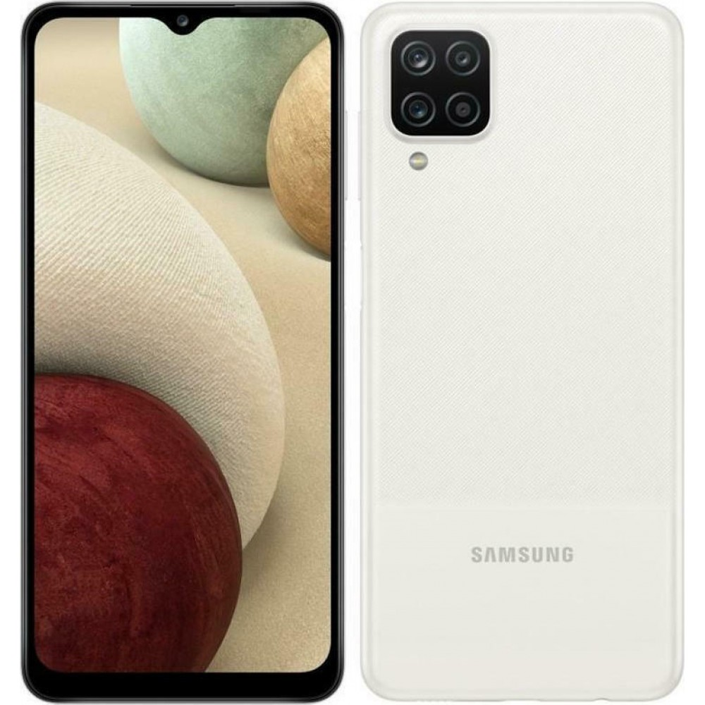 SAMSUNG GALAXY A12 A125 128GB 4GB RAM DUAL SIM WHITE EU