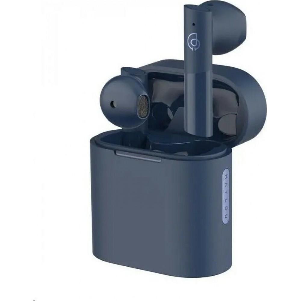 Haylou MoriPods TWS Earphones Bluetooth 5.2 Qualcomm QCC3040 Chip - Μπλε