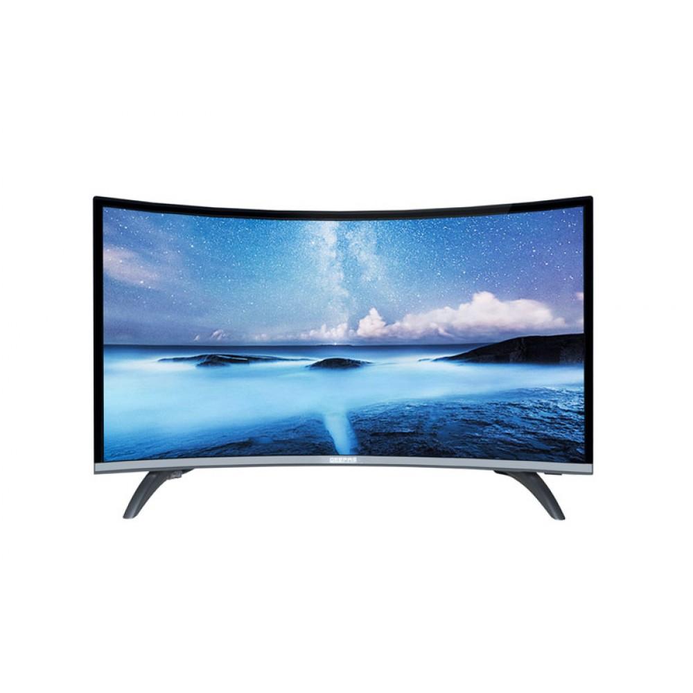"GEEPAS 32"" CURVED SMART LED TV"