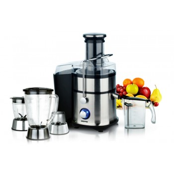 BLENDER GEEPAS 4 IN 1 STAINLESS STEEL JUICER & BLENDER