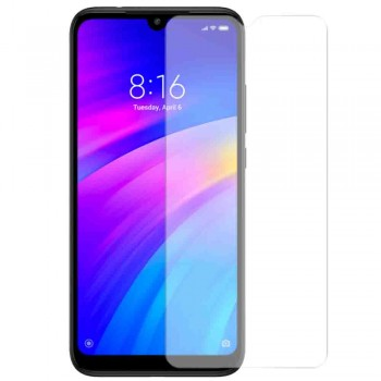 Tempered Glass 9H Normal For Xiaomi Redmi 7 _ Transparent