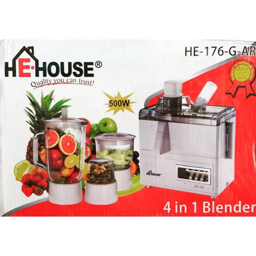BLENDER HE-HOUSE 4IN1 HE-176-G-AR
