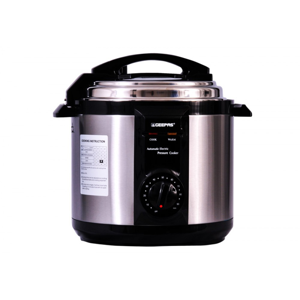 ELECTRIC PRESSURE COOKER GEEPAS GPC307-6L