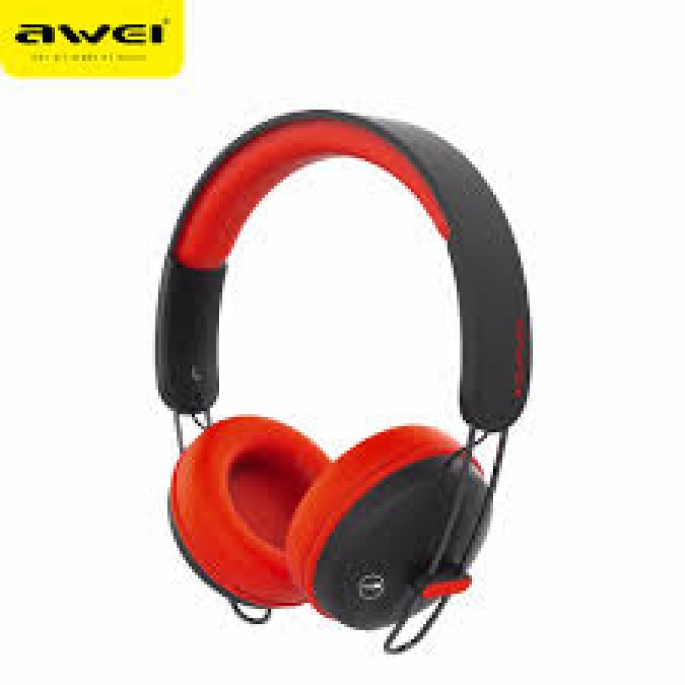 Awei A800BL Bluetooth Headphones - Κόκκινο