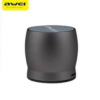 Awei Y500 Μίνι ηχείο Bluetooth 3D στερεοφωνικό ασύρματο φορητό - Σκούρο γκρι