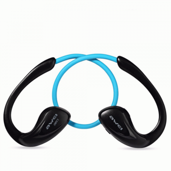 Awei A880BL Bluetooth Headset Ακουστικά - Blue
