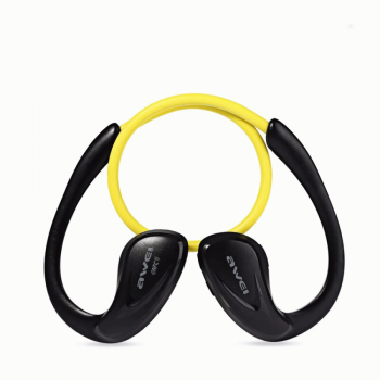 Awei A880BL Bluetooth Headset Ακουστικά - Yellow