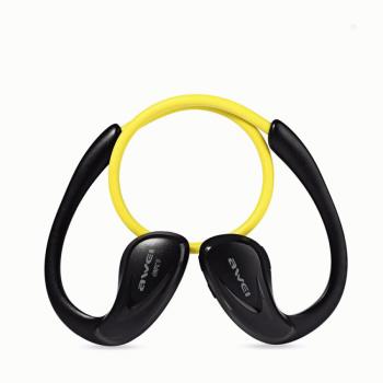 Awei A880BL Bluetooth Headset Ακουστικά - Yellow