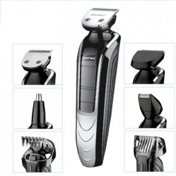 Gemei Washable Electric Shaver and Multi Grooming Kit 5 in 1 GM-582