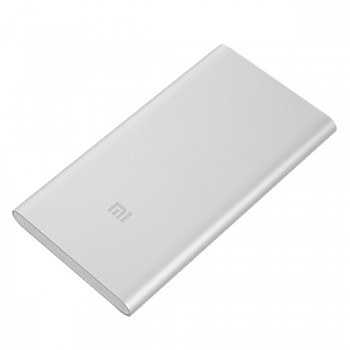 Xiaomi Mi Power Bank 5000mAh - Ασημί