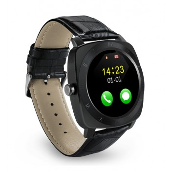 Smartwatch BW-05 Leather Black