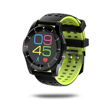 Smartwatch CE 0700 GPS Heart Rate SIM Bluetooth Smartphone For Android iOS Yellow