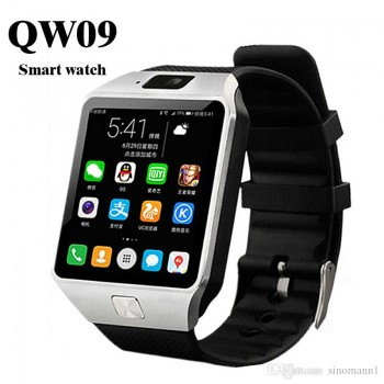 Smartwatch QW09 Android 4.4 3G/Bluetooth/Wifi for Android iOS Silver