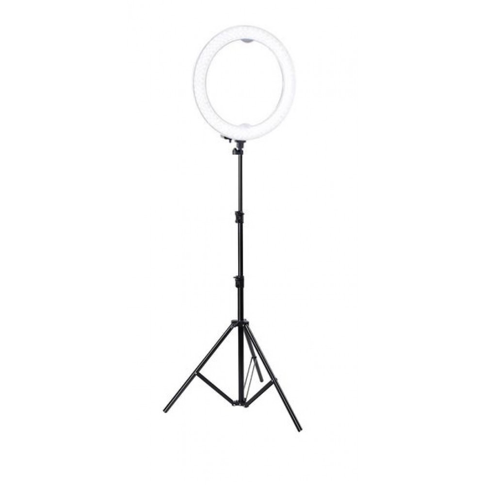 Portable LED Ring Light With Tripod Stand And Phone Holder_31CM