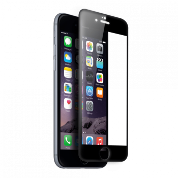 iPhone 7 Tempered Glass Full Cover 5D Προστατευτικό οθόνης - Mαύρο