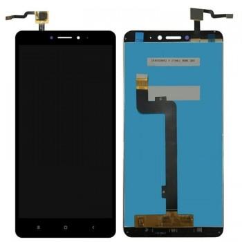 Οθονη Lcd Με Μηχανισμο Αφης Για Xiaomi Mi Max 2 Black
