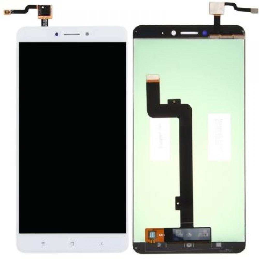 Οθονη Lcd Με Μηχανισμο Αφης Για Xiaomi Mi Max 2 White