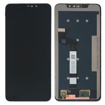 Οθονη Lcd Με Μηχανισμο Αφης Για Xiaomi Redmi Note 6 Pro Black