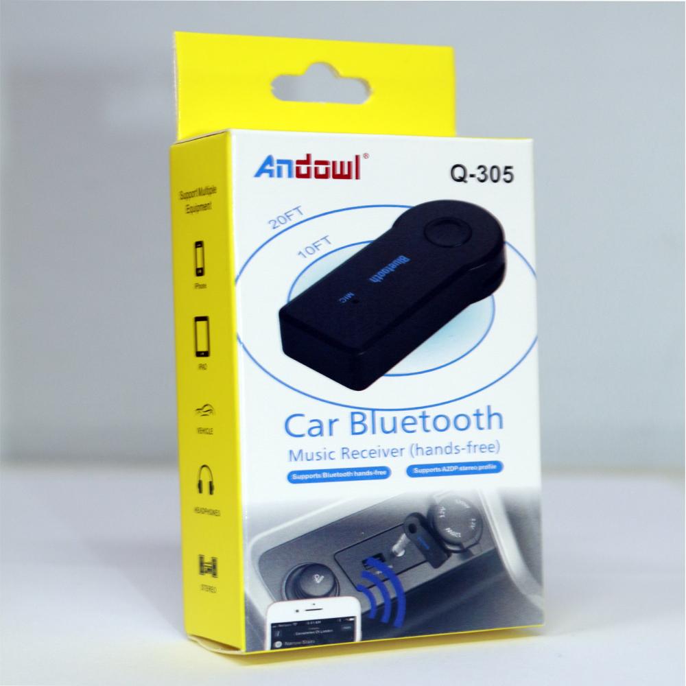 Ασύρματος δέκτης μουσικής αυτοκινήτου Bluetooth Q-305 ANDOWL