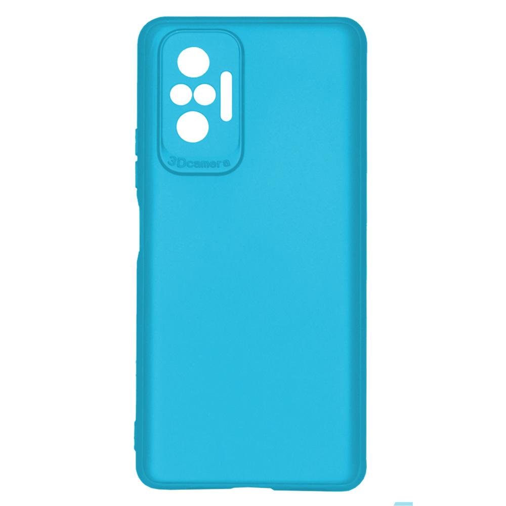 OEM BACK CASE 3D CAMERA FOR XIAOMI REDMI NOTE 10 PRO  - LIGHT BLUE