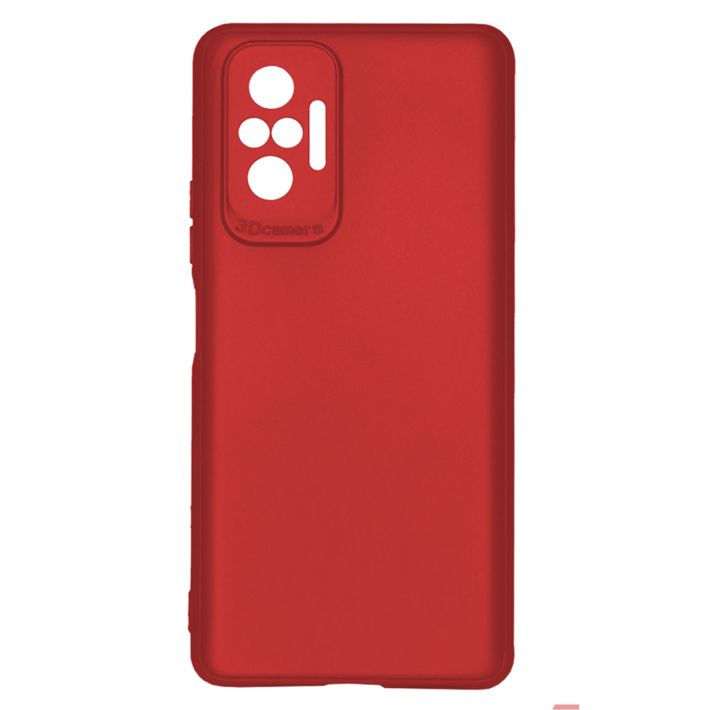 OEM BACK CASE 3D CAMERA FOR XIAOMI REDMI NOTE 10 PRO  - RED