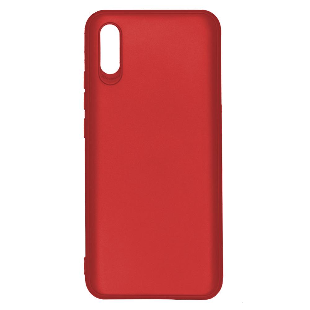 OEM BACK CASE 3D CAMERA FOR XIAOMI REDMI 9A  - RED