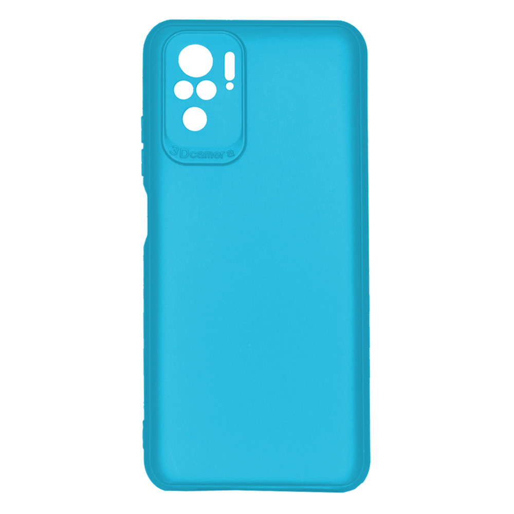 OEM BACK CASE 3D CAMERA FOR XIAOMI REDMI NOTE 10  - LIGHT BLUE