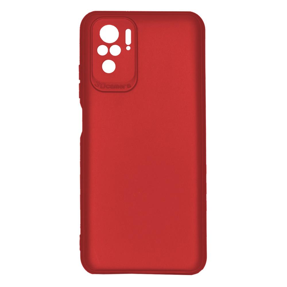 OEM BACK CASE 3D CAMERA FOR XIAOMI REDMI NOTE 10  - RED