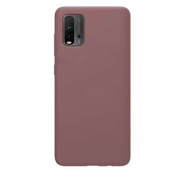 Back Case Soft Touch 1.8mm For Xiaomi Redmi 9T - Rose Gold