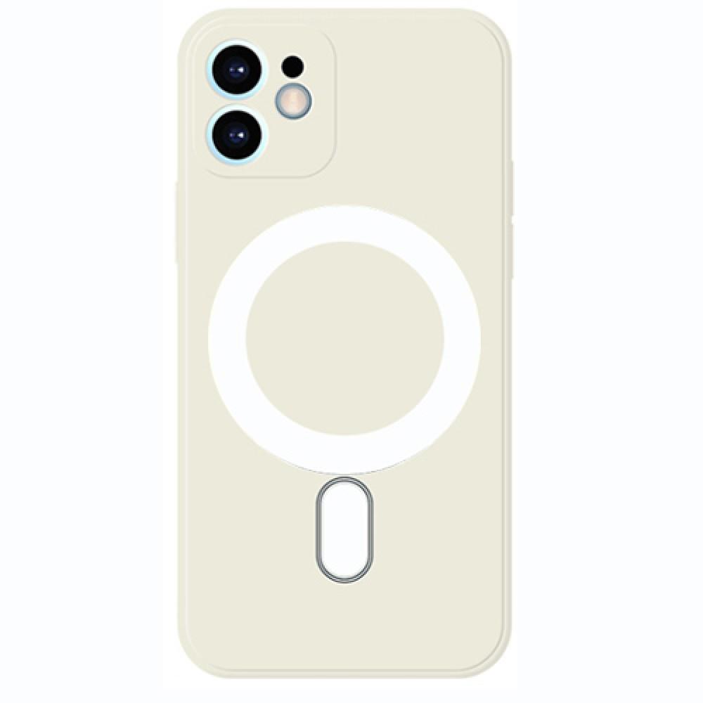 Oem Πλαστικό θήκη Με MagSafe για iPhone 12 - Offwhite